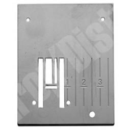 Plaque aiguille métal 1200 1250 - HUSQVARNA Réf 47/77/1034