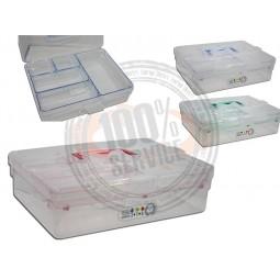 Boîte de rangement à compartiments Réf 57/95/124*