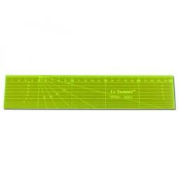 Règle de mesure fluorescente 5 x 25 cm Réf 57/95/1653