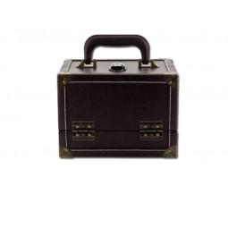 coffret aspect cuir m brun Réf 612831