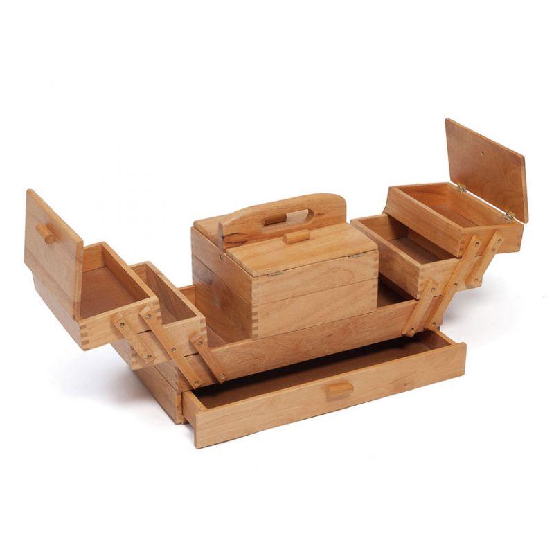 travailleuse en bois grand mod le europ 39 distri. Black Bedroom Furniture Sets. Home Design Ideas