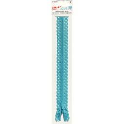 Ferm. Glissière Bleu turquoise 40 cm Prym Love Réf 66/418405