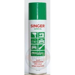 Spray huile lubrifiante 250ml Singer Réf 57/95/1199