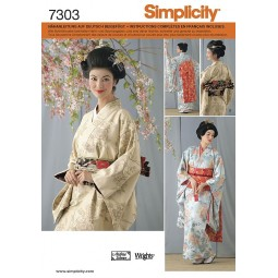 Costume chinois SIMPLICITY Réf S7303.RR