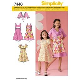 robes, corsages et vestes SIMPLICITY Réf S7440.HH