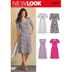 Patron de Robe NEW LOOK Réf NL6093
