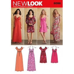 Patron de Robe NEW LOOK Réf NL6096