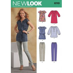 Patron de Tunique legging NEW LOOK Réf NL6110