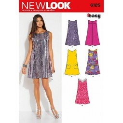 Patron de Robe NEW LOOK Réf NL6125