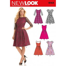 Patron de Robes NEW LOOK Réf NL6143