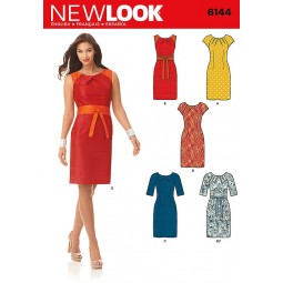 Patron de Robe dames NEW LOOK Réf NL6144