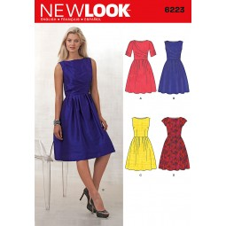 Patron de Robe NEW LOOK Réf NL6223