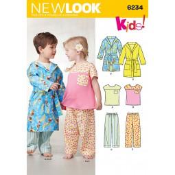Patron de Pyjama enfants NEW LOOK Réf NL6234