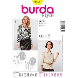 Patron N°2561 Burda style : Chemise