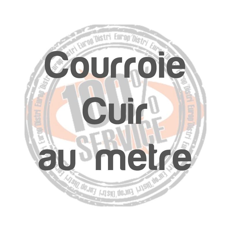Courroie cuir 8mm ANCIENNES - SINGER - Réf 29/75/1010