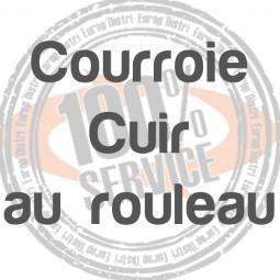 Rouleau de courroie cuir 5,5mm ANCIENNES - SINGER - Réf 29/75/1004