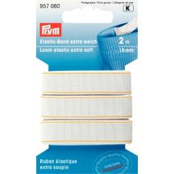 Ruban elastique 15mm Blanc