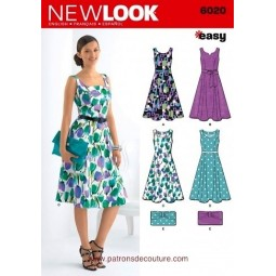 Patron de Robe NEW LOOK Réf NL6020