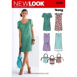 Patron de Robe NEW LOOK Réf NL6022