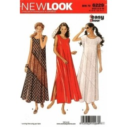 Patron de Robe NEW LOOK Réf NL6229