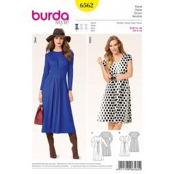 Patron Burda Style n° B6562 :  Robe