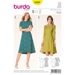 Patron Burda Style n° B6565 :  Robe