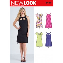 Patron N°6429 New Look : Robe