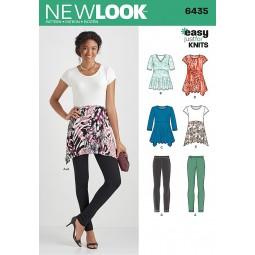 Patron N°6435 New Look : Ensemble