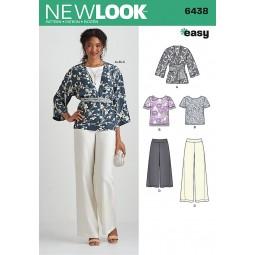 Patron N°6438 New Look : Ensemble
