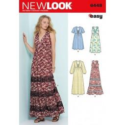 Patron New Look N°6448 Robe