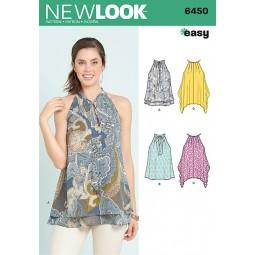 Patron New Look N°6450 Tunique
