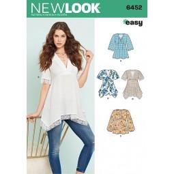 Patron New Look N°6452 Tunique
