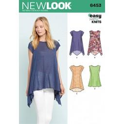 Patron New Look N°6453 Tunique