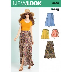 Patron New Look N°6456 Jupe