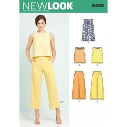 Patron New Look N°6459 Tunique et pantalon