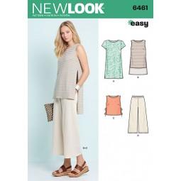 Patron New Look N°6461 Tunique et pantalon