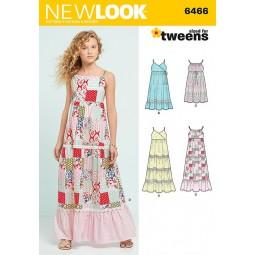 Patron New Look N°6466 Robe