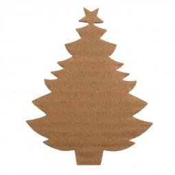 Décoration de Noël : Sapin en carton à décorer Réf 57/95/C1723