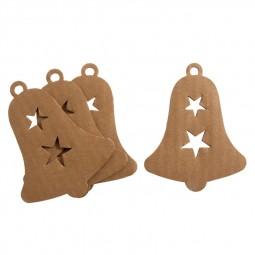 Décoration de Noël : Cloche en carton à décorer Réf 57/95/C1720