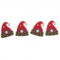 Décoration de Noël : Bonnets rouges de Noël Réf 57/95/C1693