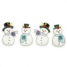 Décoration de Noël : Assortiment de bonhommes de neige Réf 57/95/C1679