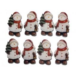 Décoration de Noël : Bonhommes de neige Réf 57/95/C1518