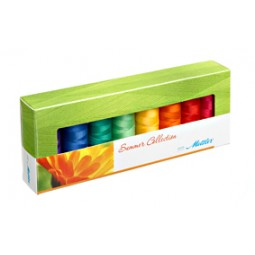 Coffret de 8 bobines de fil Silk-Finish Eté réf 58/SF8SUMMER
