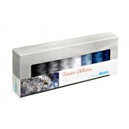 Coffret de 8 bobines de fil Silk-Finish Hiver réf 58/SF8WINTER