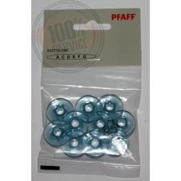 Canettes Pfaff bleues pack de 10