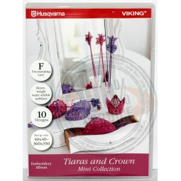 CD HV n°295 Tiaras & crowns Réf CD/HV/295