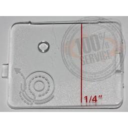 Plaque glissière Pfaff Smarter 140S Réf 48/83/1053