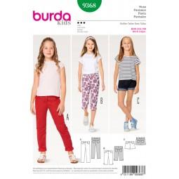 Patron de pantalon Burda Kids B9368