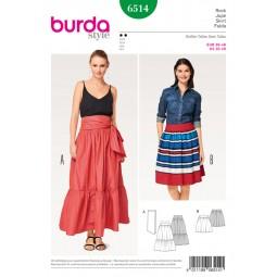 Patron Jupe Burda B6514