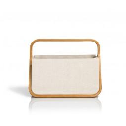 "Coffret Fold & Store ""Canevas & Bambou"" Naturel Réf 66/612563"